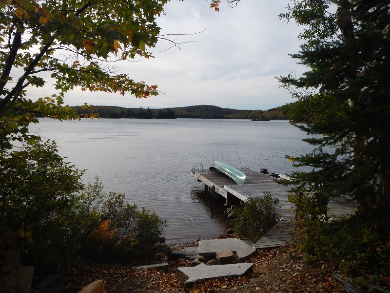 2015 Loon Lake view at Terry and Sandys Home