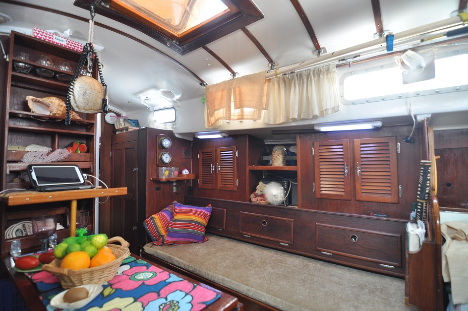 The Starboard Side of           Tundras Main Cabin