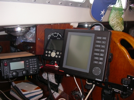 A view of Tundras Nav Station and           Radar mount that has since been removed